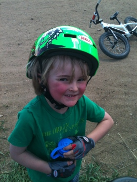 Biking at Valmont bike park