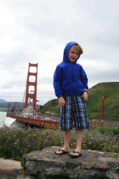 Golden Gate Bridge-check!