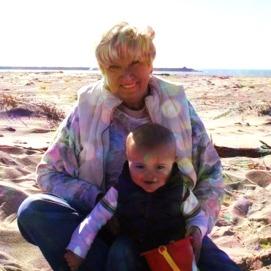 Nana and Grayson